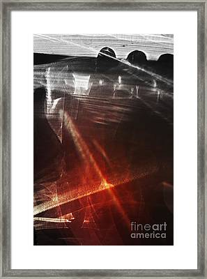 Red River Framed Print by Elena Lir-Rachkovskaya