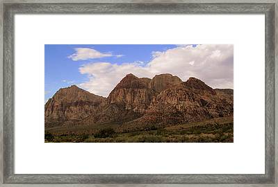 Red Rock Canyon 2014 Number 26 Framed Print by Randall Weidner