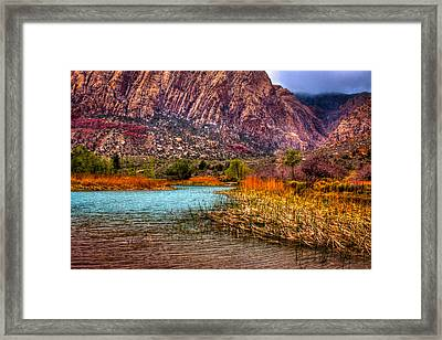 Red Rock Canyon Conservation Area Framed Print