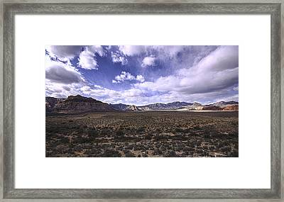 Red Rock Canyon Nevada Framed Print by Mike Herdering