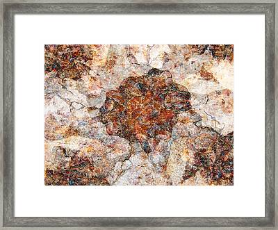 Red Rock Canyon - Soft Rock Framed Print by Stephanie Grant