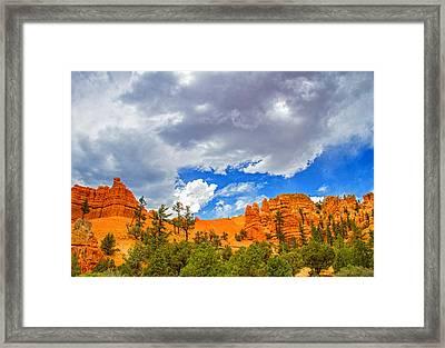 Red Rock State Park Framed Print