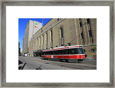 Red Rocket 23 Framed Print by Andrew Fare