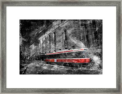 Red Rocket 23d Framed Print by Andrew Fare