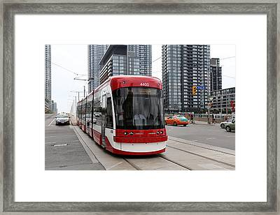 Red Rocket 38 Framed Print by Andrew Fare