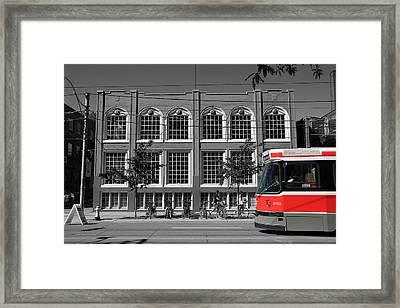 Red Rocket 9b Framed Print