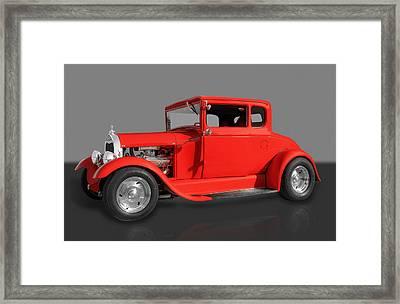 1930 Ford Framed Print by Frank J Benz