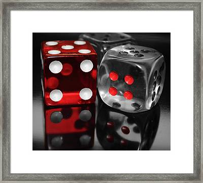 Red Rollers Framed Print