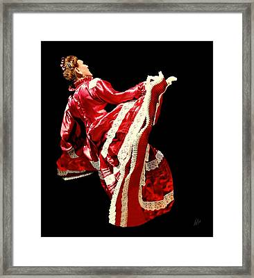 Red Ruby Framed Print by Diana Angstadt