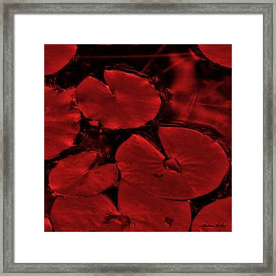 Red Ruby Tuesday Framed Print