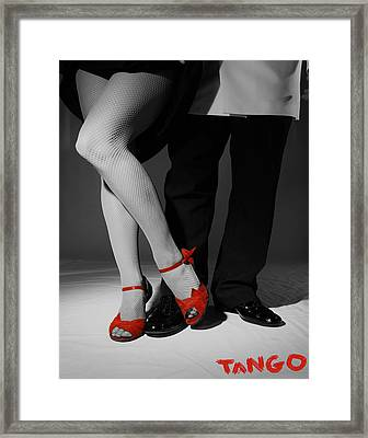 Red Shoes Framed Print by Doug Walker