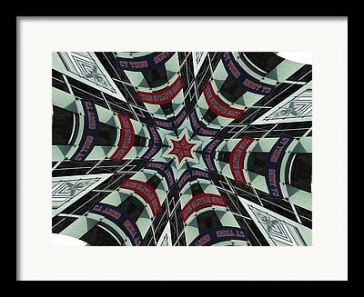 Red Sox Nation Digital Art Framed Prints