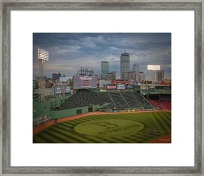 Red Sox Strong Framed Print