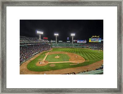 Red Sox Vs Yankees Fenway Park Framed Print