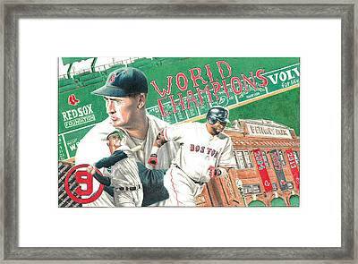 Red Sox World Champions Framed Print