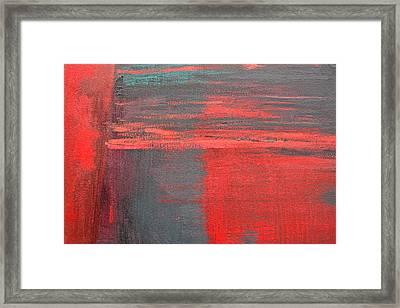 Red Square Dissected I  C2010 Framed Print by Paul Ashby