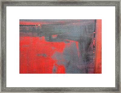 Red Square Dissected IIi  C2010 Framed Print by Paul Ashby