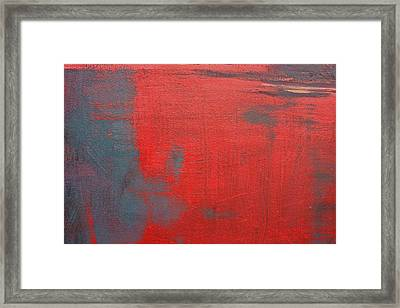 Red Square Dissected Viii  C2010 Framed Print by Paul Ashby