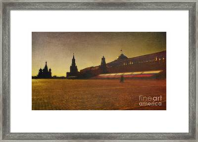 Red Square Moscow Framed Print by Elena Nosyreva