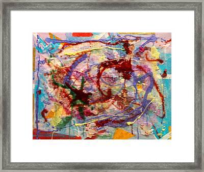 Red Tailed Hummingbird Framed Print