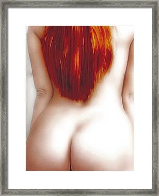 Red Temptation Framed Print