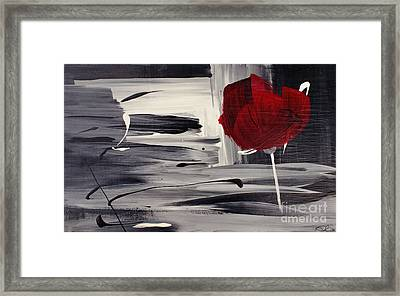 Red Velvet - Rouge Velours Framed Print