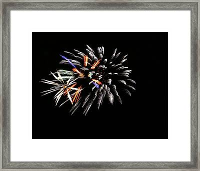 Red White And Blue Framed Print by Alexandra  Rampolla