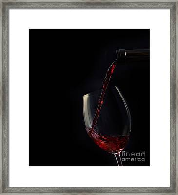 Red Wine Framed Print