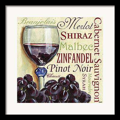 Syrah Framed Prints