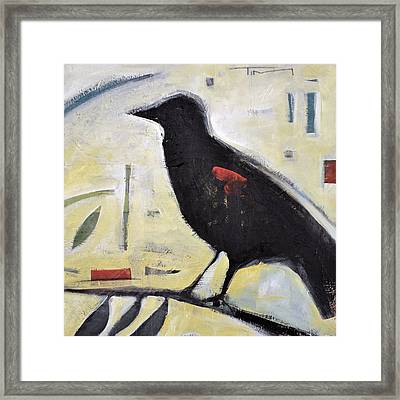 Red Wing Number Three Framed Print