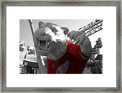 Red Wing Tiger Framed Print by Don Guilloz