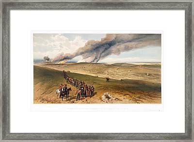 Redan And Advanced Trenches Framed Print by British Library
