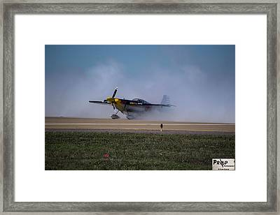 Redbull Framed Print by David Shorter