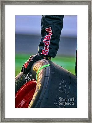 Redbull Good Year By Diana Sainz Framed Print