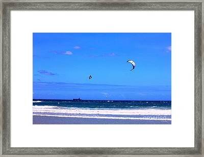 Redbull King Of The Air Cape Town South Africa Framed Print by Charl Bruwer
