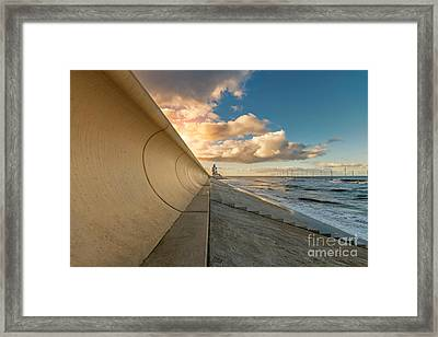 Redcar Beacon Framed Print by Bahadir Yeniceri