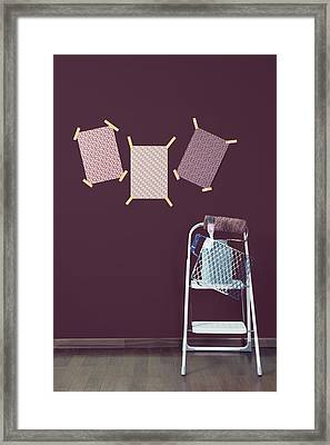 Redecoration Framed Print by Joana Kruse