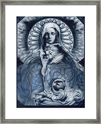 Redemption Framed Print by Luis  Navarro