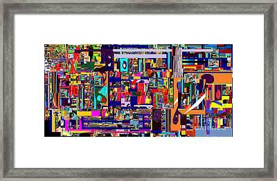 Redemption Prayer 12a Framed Print