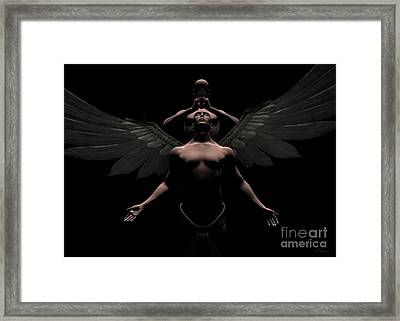 Redemption Framed Print by Sipo Liimatainen