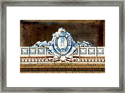 Redfield Roofline 4 Framed Print by Sylvia Thornton