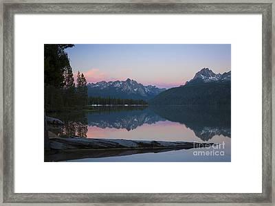 Redfish Dawn Framed Print