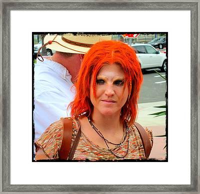 Redhead Dreamer Framed Print by Phillip White