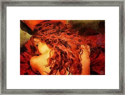 Redhead Framed Print
