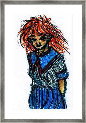 Redhead II Framed Print