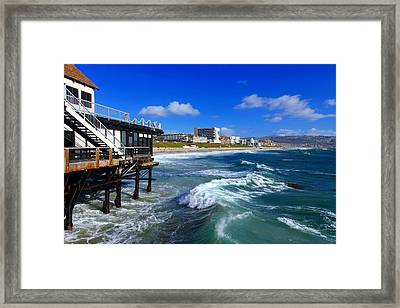 Redondo Pier - Mike Hope Framed Print