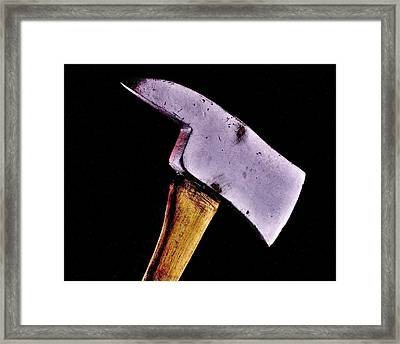 Redrum Framed Print by Benjamin Yeager