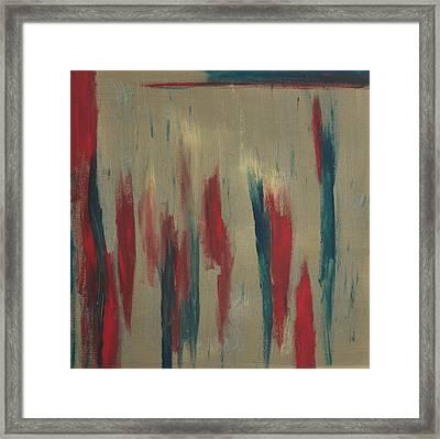 Reds Framed Print by Joanna Aktas