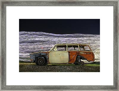 Redwhiteblue Framed Print