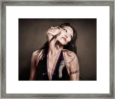 Ree Ja Soul Framed Print by Gary Heller